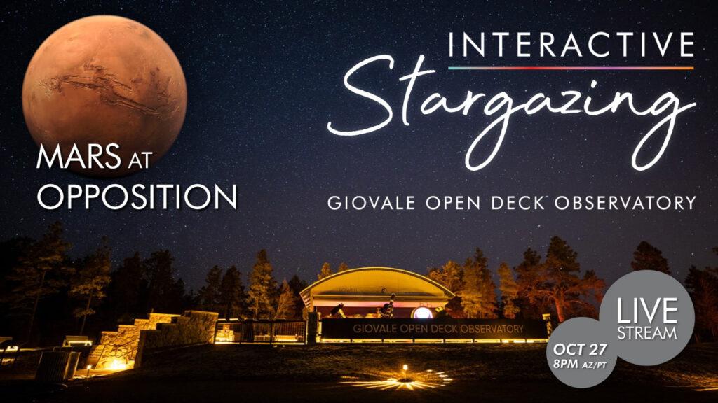 Streaming | Interactive Stargazing & Mars Opposition Week 4