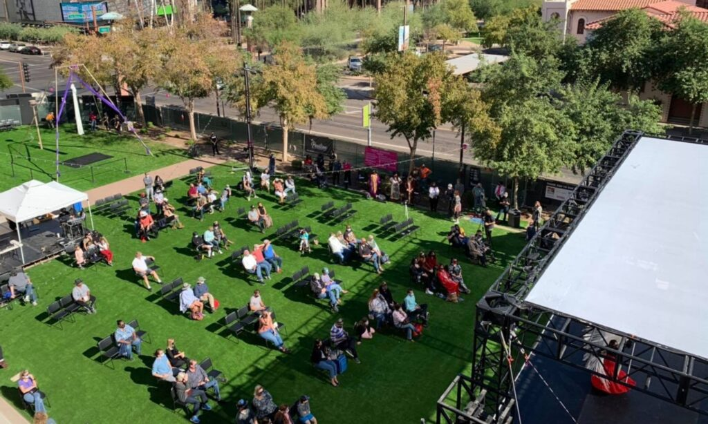 The Pavillion at the Herberger Theater Brings Performances Outdoors